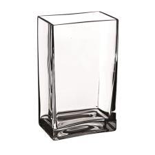 Ale Import Vaso Quadrato Vetro H 300
