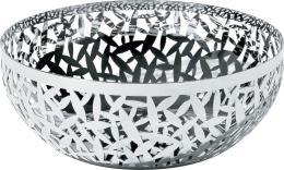 Alessi Fruttiera Decorata Cactus Silver