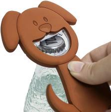 Apribottiglia Balvi Woof Magnetivo PVC Marrone