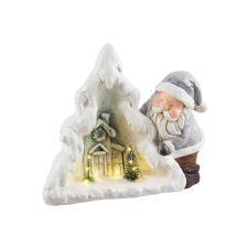 Babbo Natale Blizzard Bizzotto Casetta con Led