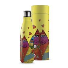 Bottiglia Termica Egan Laurel Burch Gialla