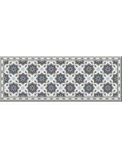 Brandani Tappeto Esagono PVC Espanso 210x58 cm