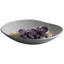 Ciotola Mascagni In ceramica Grigio Acciaio
