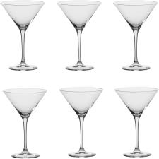 Coppe Leonardo per cocktail Set 6 Pezzi