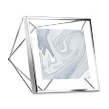 Cornice prisma 10x10 cromo, Umbra