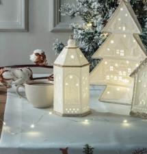 Decorazione natalizia lanterna