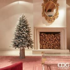 EDG Albero Di Natale Pino Merano Innevato H150 D101