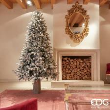 EDG Albero Di Natale Pino Merano Innevato H210 D132