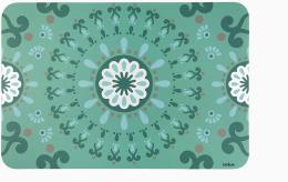 Excelsa Tovaglietta Mandala Azzurra 43x29 cm
