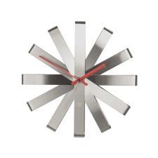 Orologio Da Parete Umbra Ribbon A Nastro Silver