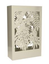 Portaombrello Brandani Tropical Bianco Metal