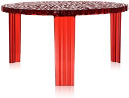 Tavolo kartell T-TABLE Rosso