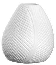 Vaso Asa in Porcellana Bianca delle Foglie