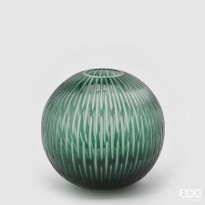 Vaso EDG Sfera Intagliato H28 D30